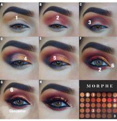 morphe 350m makeup looks morphe palette makeup morphe eyeshadow makeup new makeup palettes