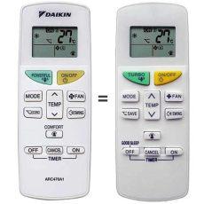 mando a distancia para aire acondicionado daitsu modelo mando daikin arc470a1 recambio para aire acondicionado