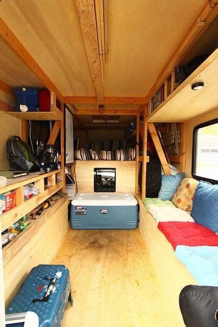 100 cozy cer van bed ideas truck tent