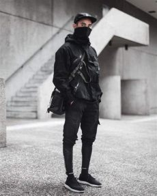 black techwear jacket techwear style guide clothing essentials styles of