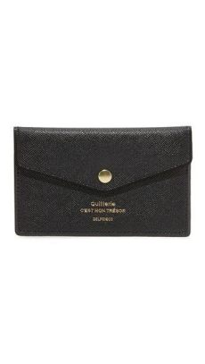 delfonics quitterie card case delfonics quitterie card with snap card snaps continental wallet