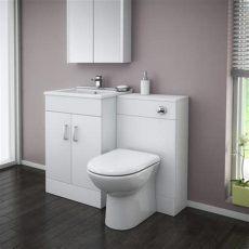 turin high gloss white vanity unit bathroom suite turin high gloss white vanity unit bathroom suite w1100 x d400 200mm at plumbing uk