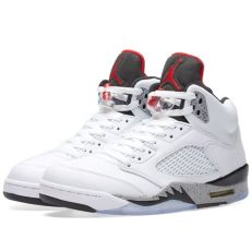 air jordan 5 retro white air 5 retro white black end