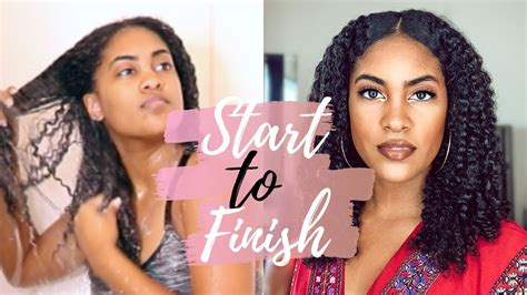 full wash day wash routine porosity curly natural
