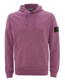 stone island garment dyed popover hoody rose quartz island mens garment dyed hoodie quartz hooded sweatshirt