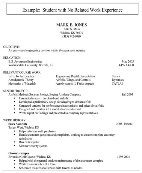 entry level resume experience business letters writing