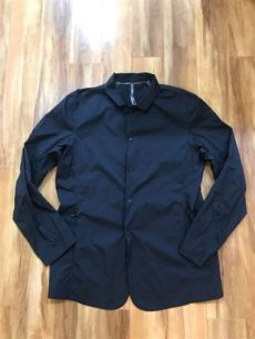 arcteryx veilance made in canada arc teryx arcteryx veilance windshell blazer black xl x large made in canada ebay
