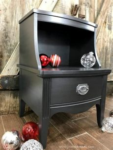 how to paint glamorous furniture with metallic furniture paint - Silver Metallic Paint For Wood Furniture