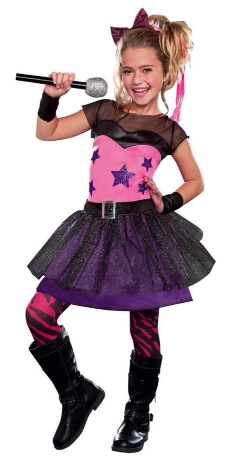 girl 80 rock star sweetie costume kids 80s