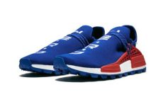 pw hu nmd nerd adidas pw hu nmd in blue for lyst