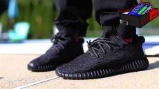 yeezy boost 350 pirate black on feet adidas yeezy boost 350 pirate black on