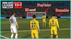 all star dream league soccer 2018 dls 18 kits messi ronaldo neymar in psg league soccer 2018 mod dls 18 penalty shootout android