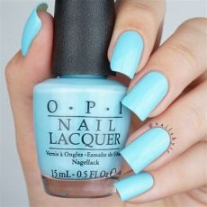 opi blue nail polish swatches opi i believe in manicures swatch opi breakfast at s collection swatches review