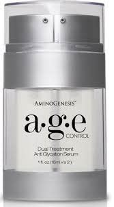aminogenesis age control anti glycation serum aminogenesis age dual treatment anti glycation serum ingredients explained