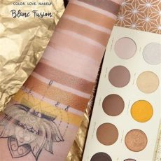 zoeva blanc fusion palette swatches zoeva new blanc fusion palette makeup maquillatge makeup swatch and makeup