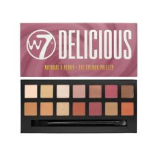 w7 cosmetics delicious berry 14 colour eyeshadow palette free delivery justmylook - W7 Delicious Eye Palette
