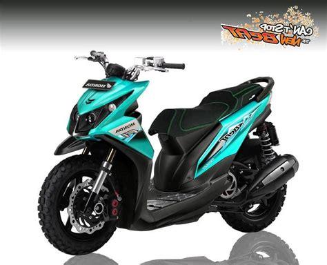 motor honda beat ditujukan kumpulan modifikasi motor honda