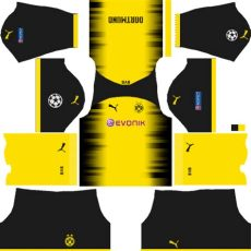 league soccer borussia dortmund kits logos 2019 2020 - Kit Dls Borussia Dortmund 2014