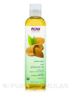 now solutions almond oil now 174 solutions sweet almond 100 8 fl oz 237 ml
