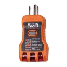 home depot receptacle tester klein tools gfci receptacle tester rt600 the home depot