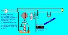 bimetalico en refrigeracion circuito electrico de un sistema de refrigeracion domestico teoria refrigeracion desde casa