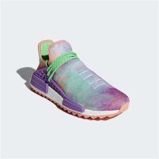 nmd x pharrell williams holi pharrell williams x adidas nmd hu trail holi chalk coral grailify sneaker releases
