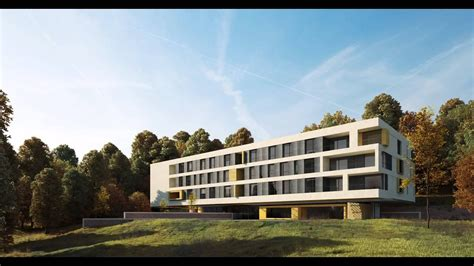 architectural visualisation post production compositing breakdown nursing home