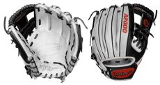 custom softball gloves wilson closeoutbats sale buy wilson custom a2000 11 5 quot infield glove 1786 quot white lighting