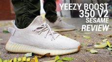 yeezy boost 350 v2 sesame on foot adidas yeezy boost 350 v2 sesame review on