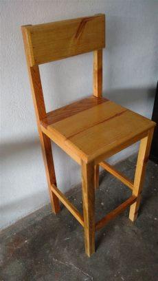 imagenes de bancos de madera para barra set 2 bancos de madera para barra bar desayunador etc 849 00 en mercado libre