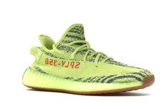 yeezy boost 350 v2 semi frozen yellow on feet adidas yeezy boost 350 v2 semi frozen yellow b37572