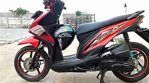honda beat fi body design youtube