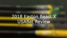 2018 easton beast x hybrid usabat review batdigest - Usabat Reviews
