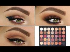morphe 35n palette looks step by step 3 looks 1 palette morphe 35f makeup morphe morphe eyeshadow