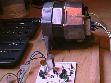 proto type speed module universal washing machine motor