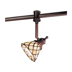 hton bay flexible track lighting hton bay 120 volt antique bronze track with shade ec4153abz the home
