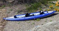 aquaglide chelan hb tandem xl review product review aquaglide chelan hb tandem xl kayak for 1 3 paddlers airkayaks
