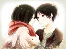 mikasa and eren shingeki no kyojin attack on titan wallpaper 37707714 fanpop - Attack On Titan Mikasa And Eren