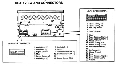 car audio wire diagram codes toyota factory car