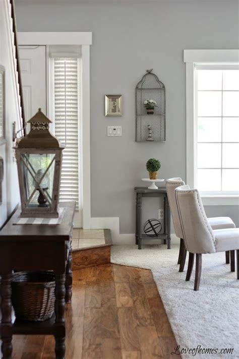 Benjamin Moore Pelican Grey Grey Paint Living Room