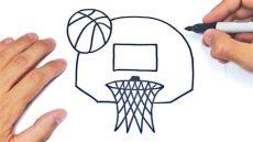 canasta de basquetbol para dibujar como dibujar una canasta de baloncesto o basket