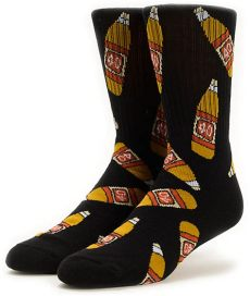 40s and shorties socks 40s shorties 40s black crew socks zumiez