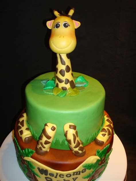 safari baby shower cakecentral