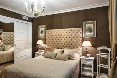 beige and brown bedroom ideas small apartment in beige brown with a windowless room 1 home interior design