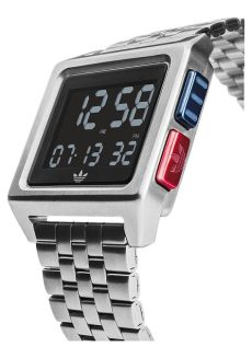 adidas archive m1 digital wristwatch has an understated 70s style - Adidas Archive M1