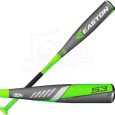 2016 easton s3 youth big barrel baseball bat 2 3 4 quot 10oz sl16s310b - Easton S3 Big Barrel 2016