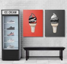 yeezy ice cream poster yeezy icecream sneakerheads amino
