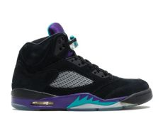 air 5 retro quot black grape quot black new emerald grape air 5 air jordans - Air Jordan 5 Black Grape