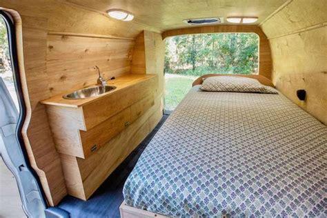 eco friendly converted van home full hidden features