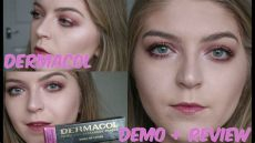 dermacol makeup cover foundation review dermacol makeup cover foundation extremely high coverage demo review beautiful breakable